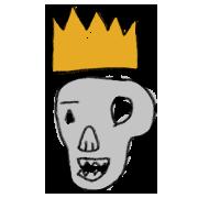 Hamlet Skull & Crown